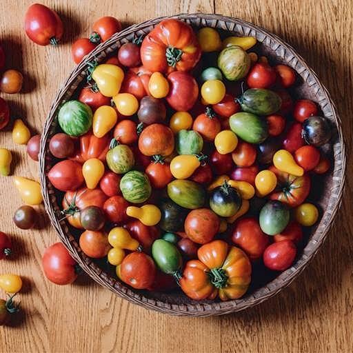 گوجه فرنگی میکس تازه