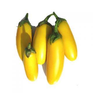 بذر بادمجان قلمی زرد