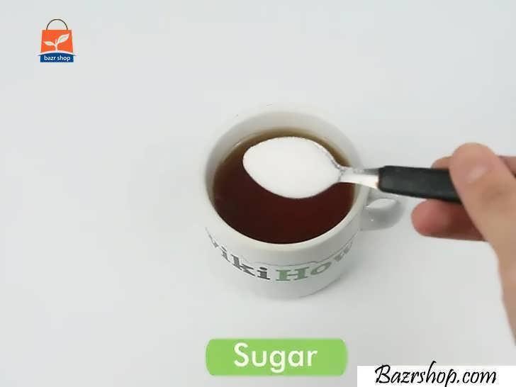 محتویات فنجان را آرام بنوشید و از چای عالی لذت ببرید