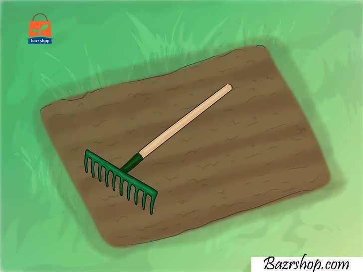 خاک را آماده کنید