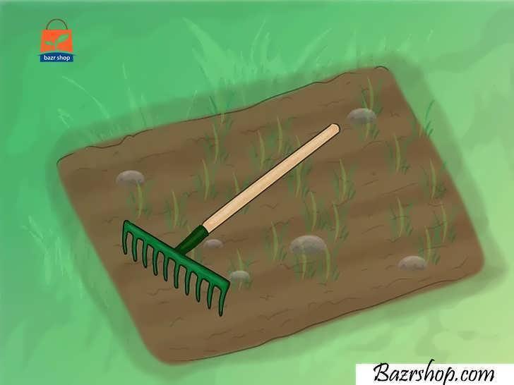 خاک را عاری از علف های هرز و سنگ نگه دارید